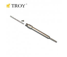SDS PLUS ADAPTÖR 250MM VE MERKEZLEME MATKAP UCU SETİ TROY 27466